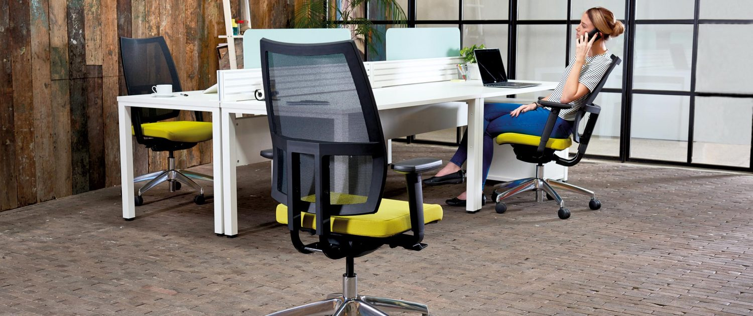Pepi Mesh Chair - Mesh Back Chair - Office Chairs - Ergonomic Seating
