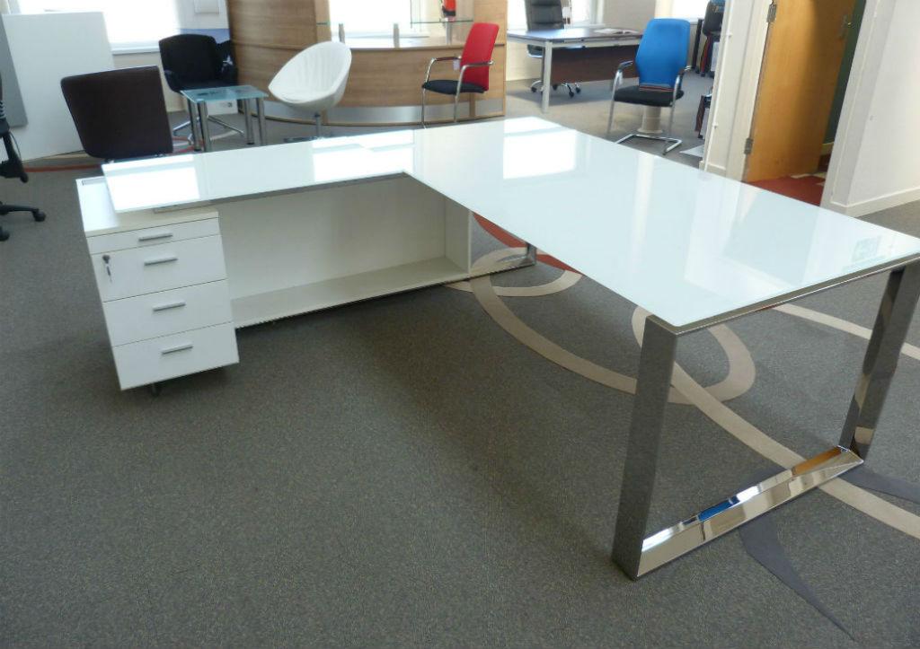 Glass Desk - Office Desk - Office Desks - Office Furniture - Designer Furniture