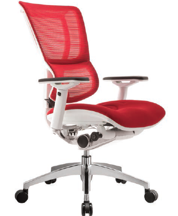 Red Mirus Mesh Chair - Ergonomic Chair - Ergonomic Chairs - Office Chairs