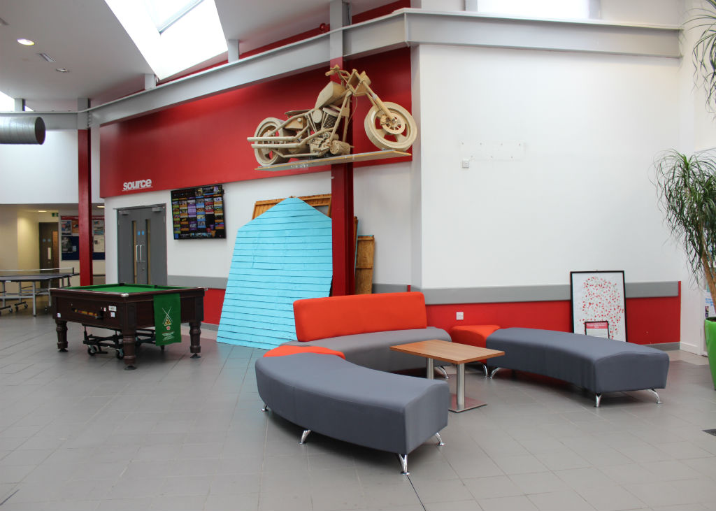 UCLAN Silver Seating - Breakout Seating - Breakout Furniture - Canteen Furniture