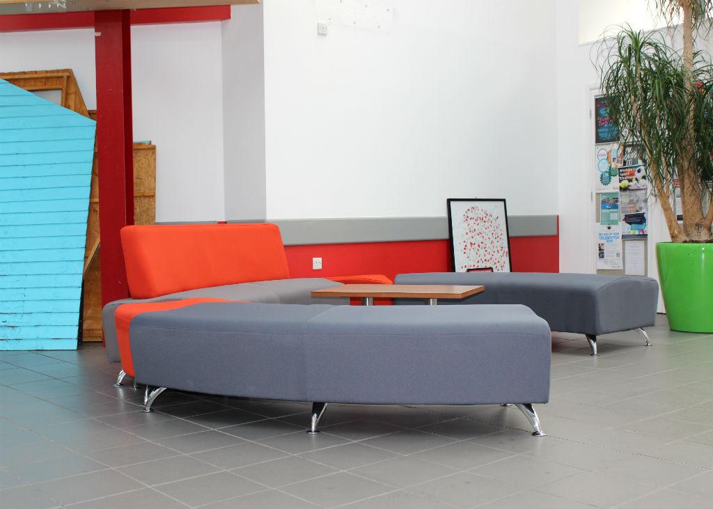 UCLAN Silver Seating - Breakout Seating - Breakout Furniture - Canteen Furniture