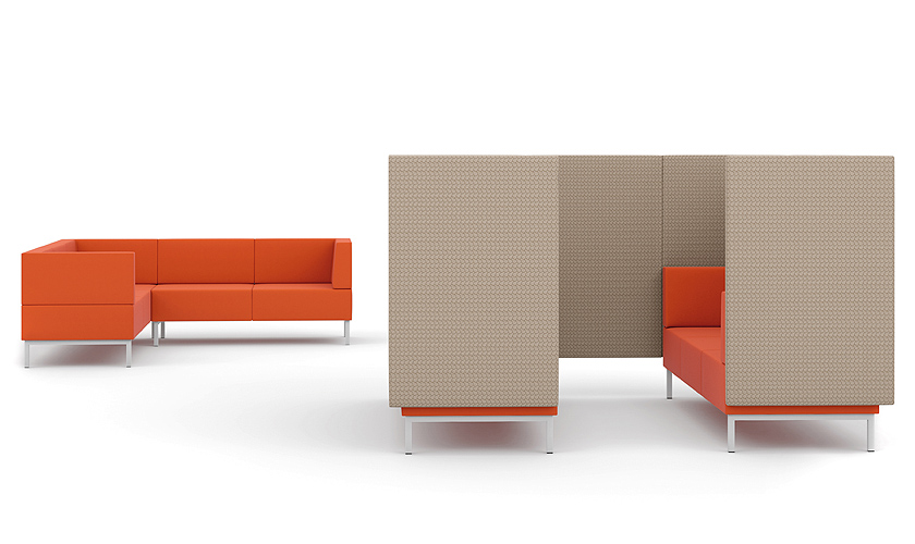Fence Seating - Seating Booths - Breakout Furniture