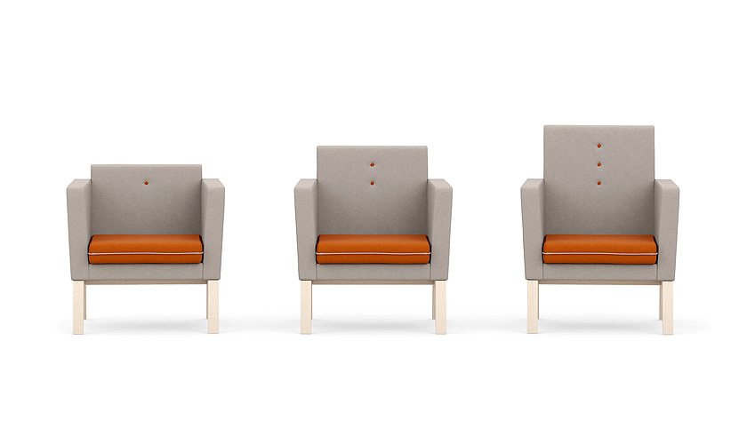 Me, Myself & I Chair - Wooden Chair - Wooden Seating - Seating - Breakout Furniture