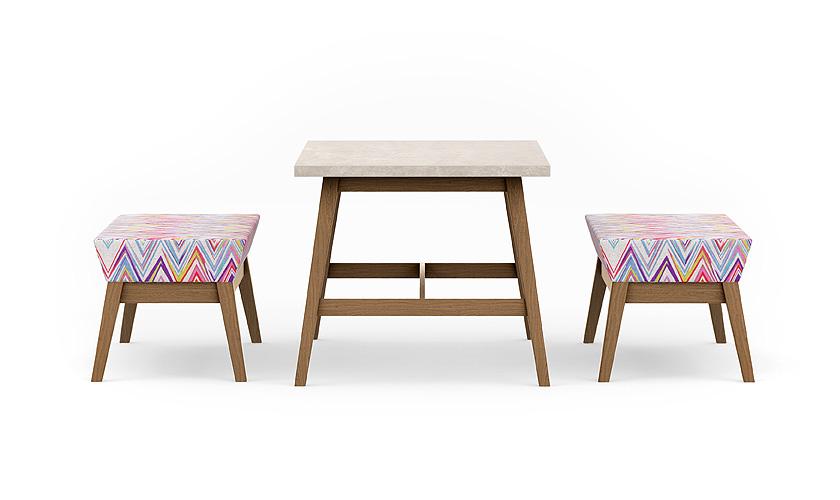 NATTA Wooden Bench - Wooden Bench - Wooden Benching - Benching - Breakout Furniture