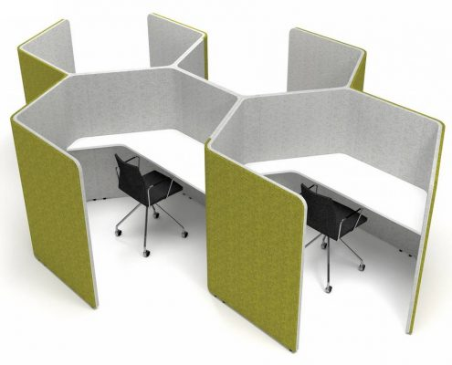Den Honeycomb - Den Booths - Seating Booths - Acoustic Pods