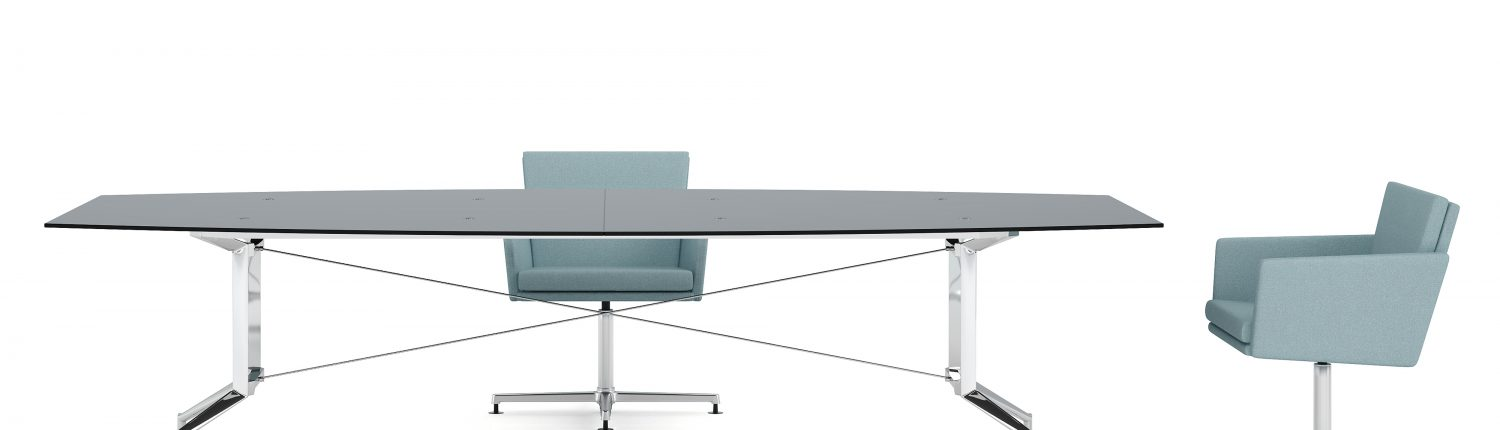 Ensa Glass Table - Ensa Tables - Meeting Tables