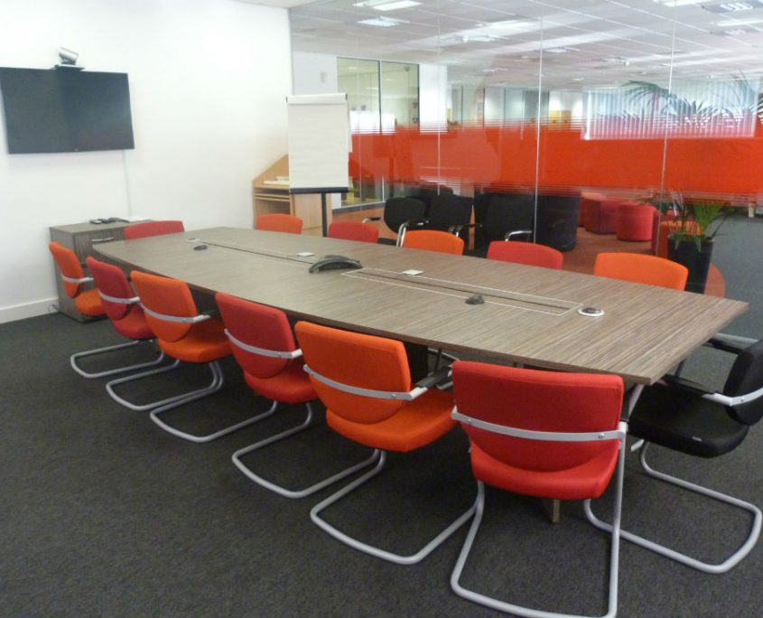 Vodafone - Office Furniture Project - Office Delivery & Installation