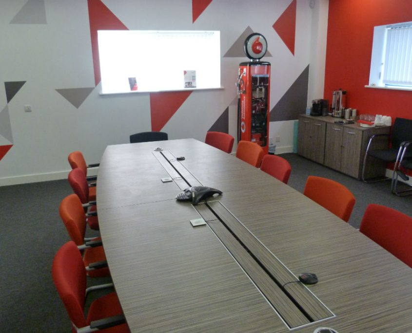 Vodafone Office Furniture Project Bevlan Office Interiors