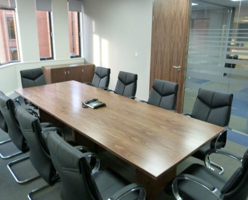 Bespoke Boardroom Tables - Exchange Chambers - Office Furniture Manchester - Office Furniture Selivery & Installation