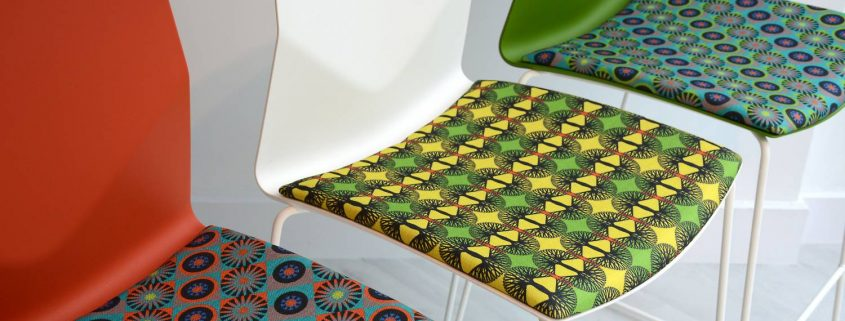 Patterned Fabric Furniture