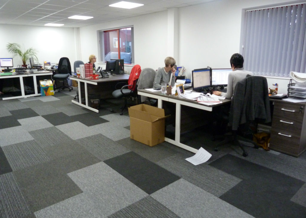 Office Furniture Installation - Sherry Textiles