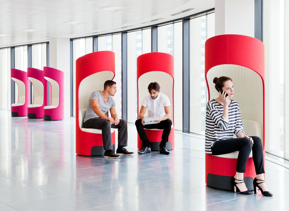CEGA - Privacy Seat - Acoustic Pods & Booths