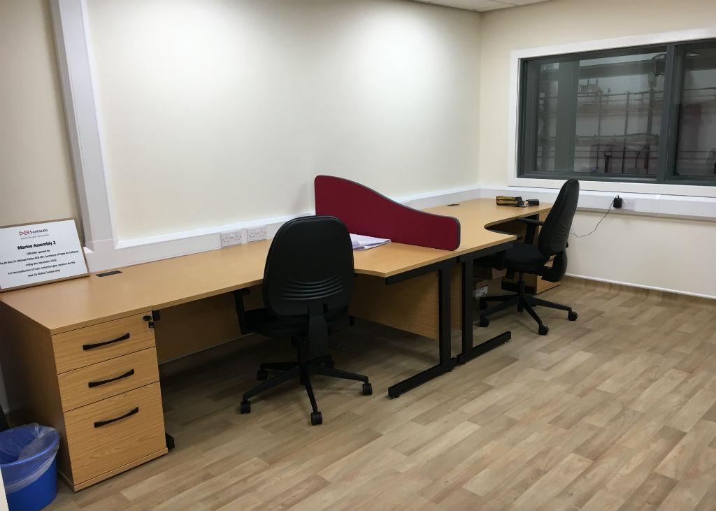 David Brown Office Furniture Project