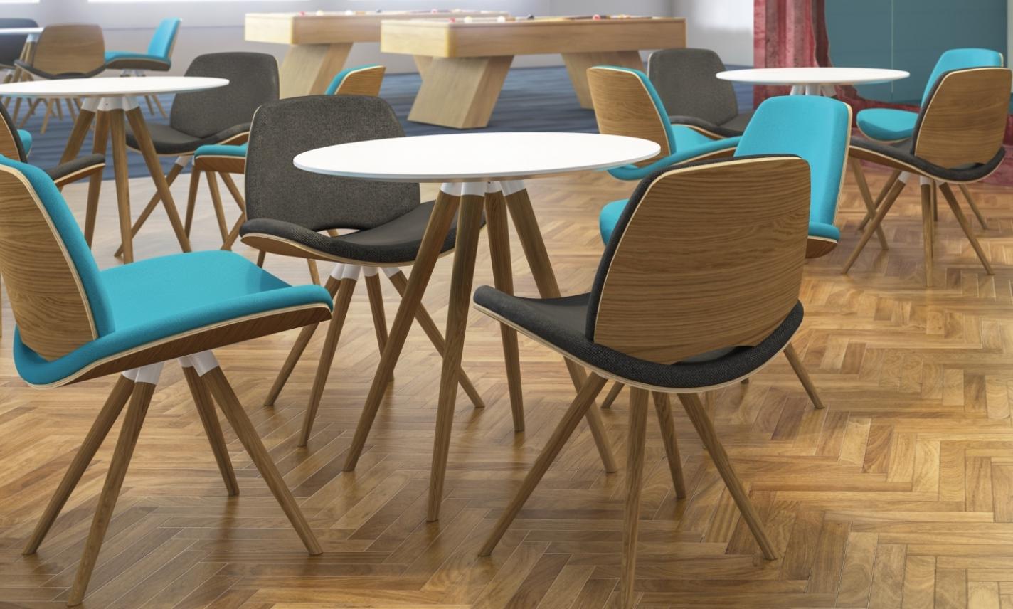 Breakout Furniture - Era Wood - Breakout Seating - Breakout Tables