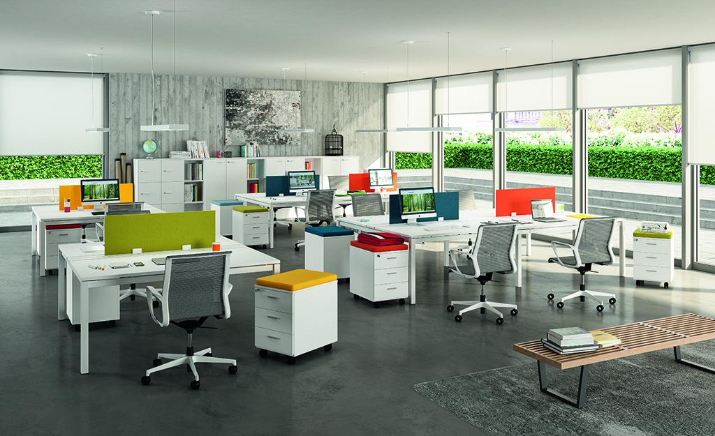 X4 Bench Desks | Bench desks | Office desks