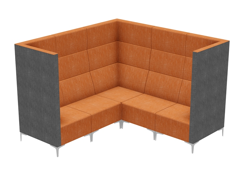 Modular Seating - Huddle Corner High