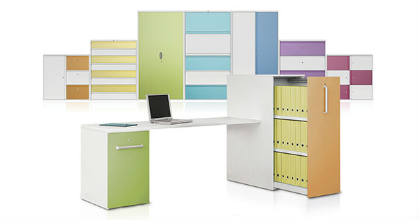 Steel Storage - Colours - Storage Solutions