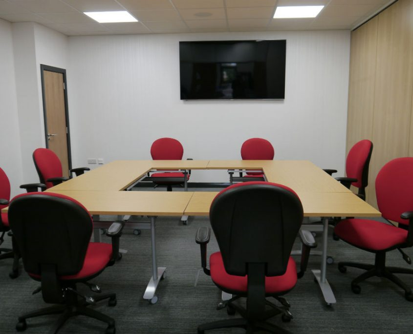 Office Refurbishment - Training Room Furniture - Meeting Room Furniture - Tilt top Tables - Folding Tables