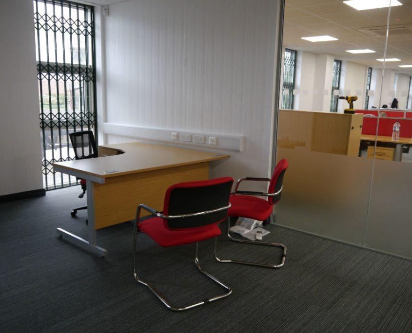 Office Refurbishment - Office Desks - Executive Desks - Managers Office