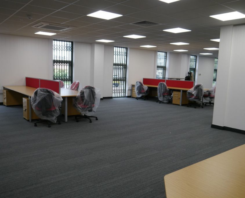 Office Refurbishment - Office Desks - Bench Desks - Veta Bench Desks
