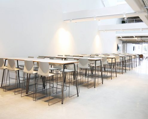 Folding Tables - Stacking Tables - Moveable Tables - Bistro Tables - Canteen Tables