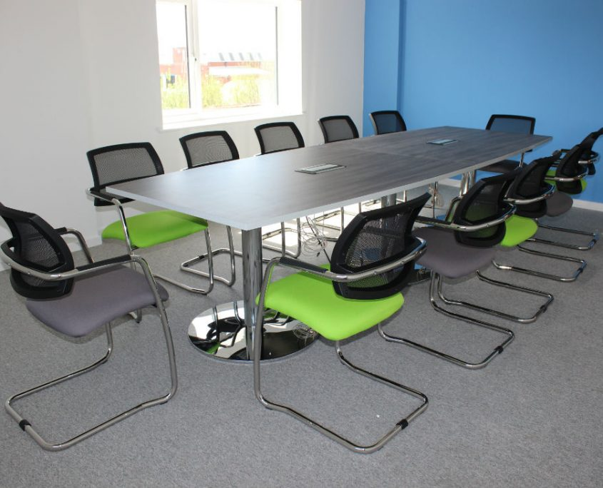 Office Space Planning - Mesh back Meeting Chairs - Training Room Tables - Boardroom Tables - Meeting Tables