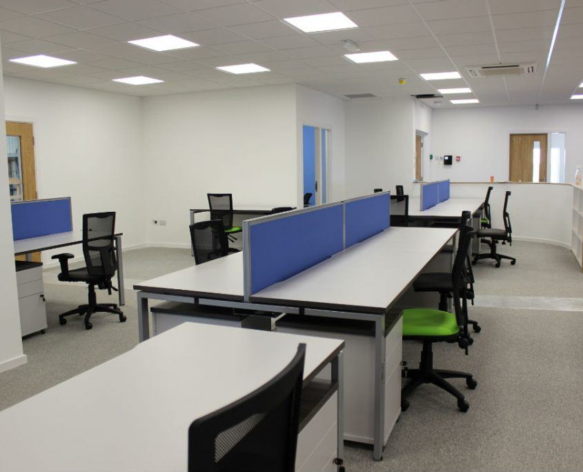 Bench Desks - Office Desks - Office Space Planning - Office Furniture Installation