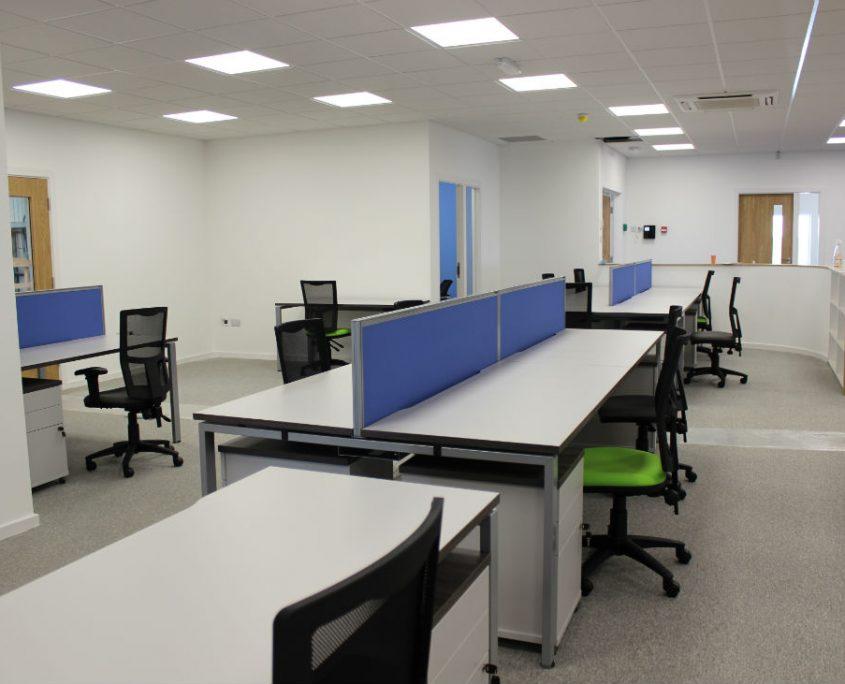 Bench Desks - Office Desks - Office Space Planning - Office Furniture Installation