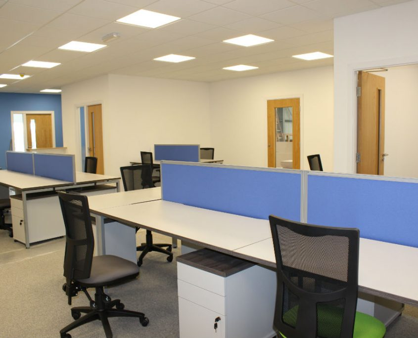 Office Space Planning - Mesh back Meeting Chairs - Meeting Tables - Executive Desks - Operator Chairs - Bench Desks - Office Desks