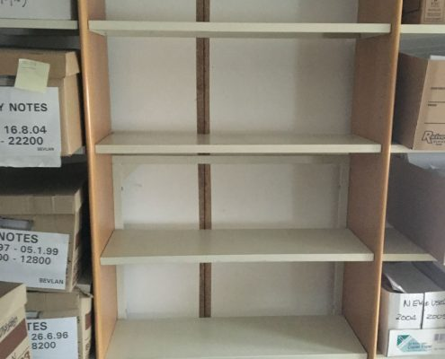 Library Shelving - Used Office Furniture Lancashire North West UK