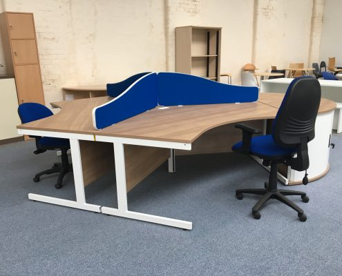Call Centre Desk - Used Office Furniture Lancashire North West UK