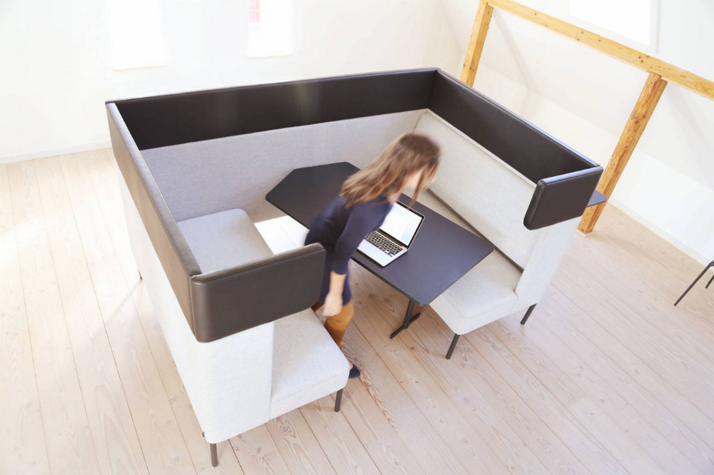 Interactive Furniture - FourUS Cave - FourUS Ear - High Back Sofa - Soft Seating