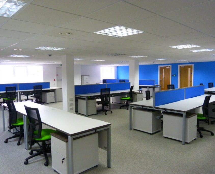 Hallis Hudson - Office Furniture Preston - Office Installation