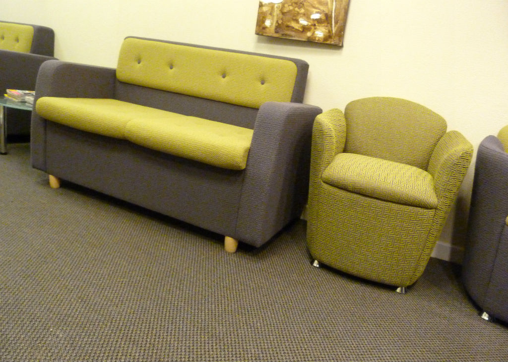 Reception Seating - Chico Sofa - Mingle Sofa - Waiting Area - Reception Area
