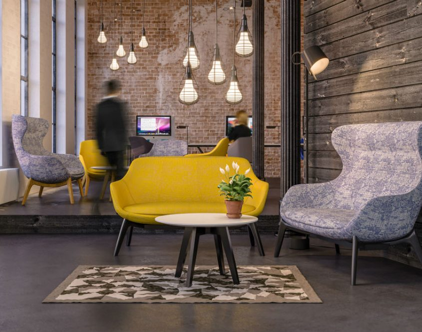Funky Furniture - Funky Office Furniture - Ilk Sofa - Breakout Seating - Funky Seating