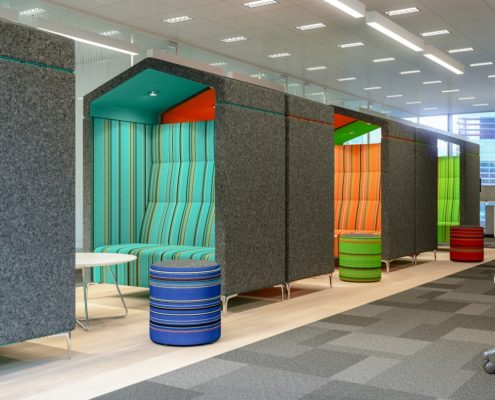 Breakout Booths Unique Booth Seating Office Shed