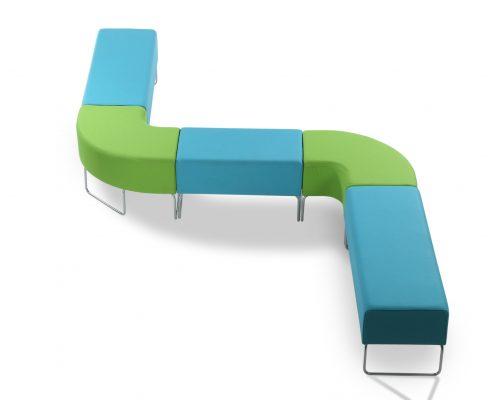 Urban S shape modular