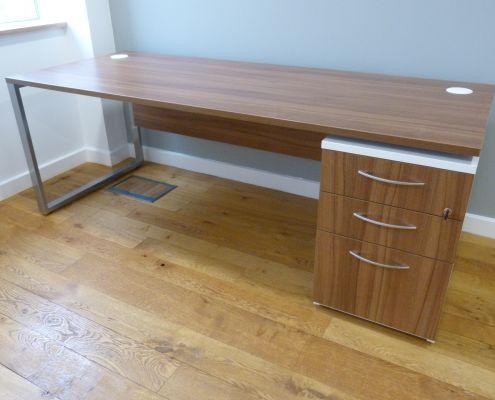 Walnut desk Sven