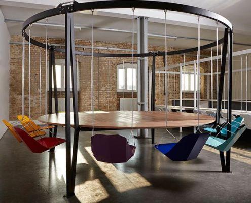 Office swing