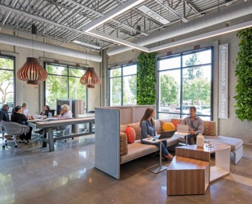Dynamic workspace, flexible working