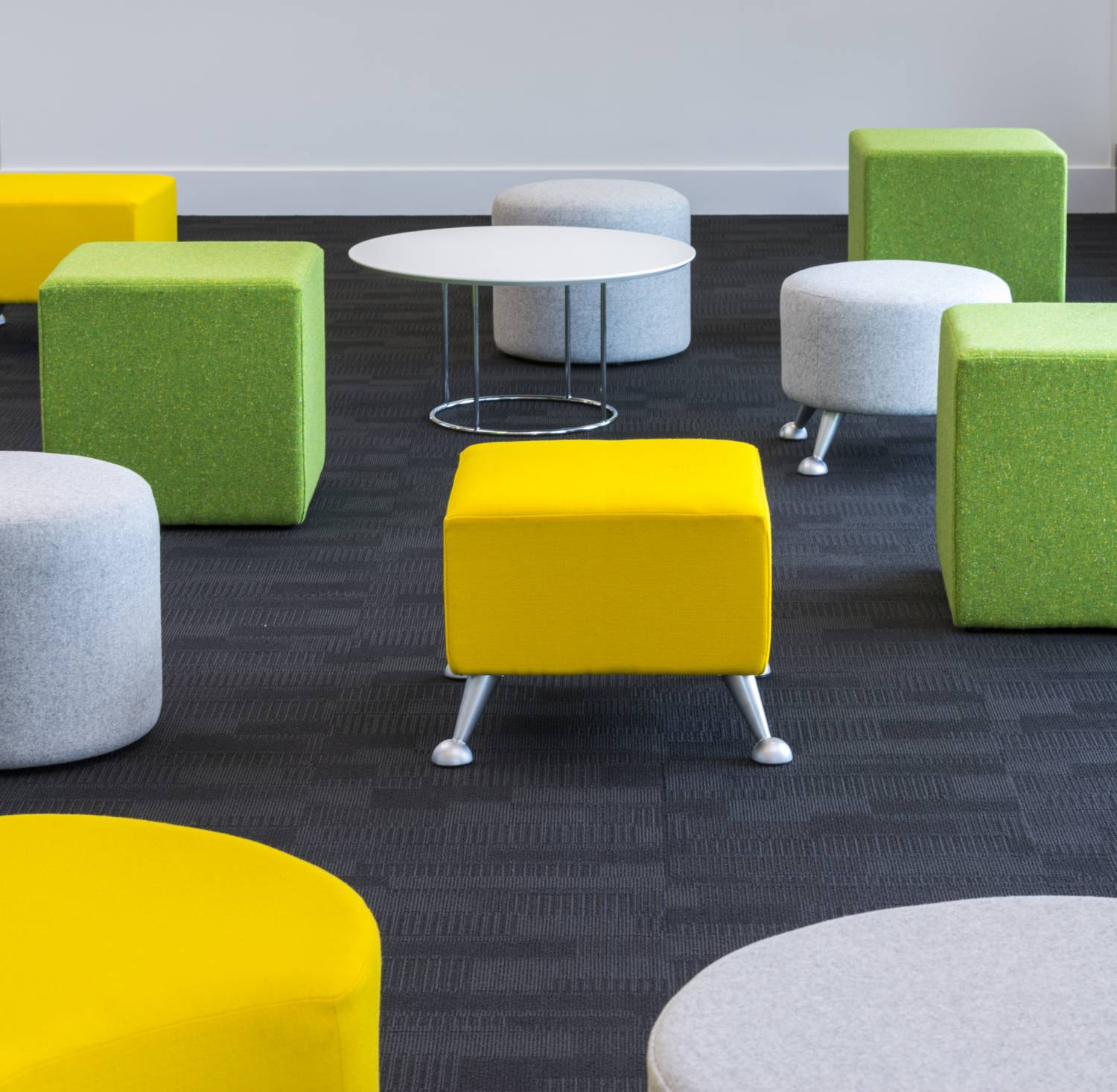 Coloured stools
