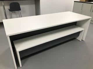 Canteen desking | Bench desking | Bevlan Office Interiors