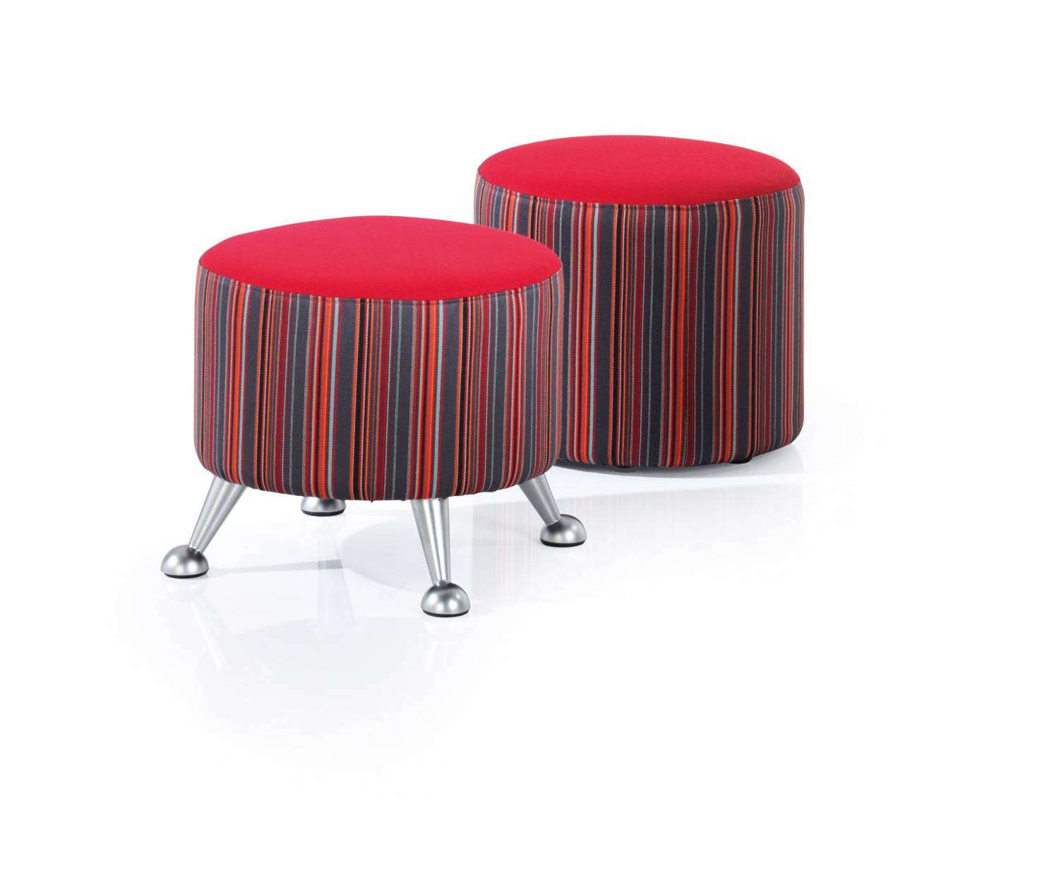Round A frame stools