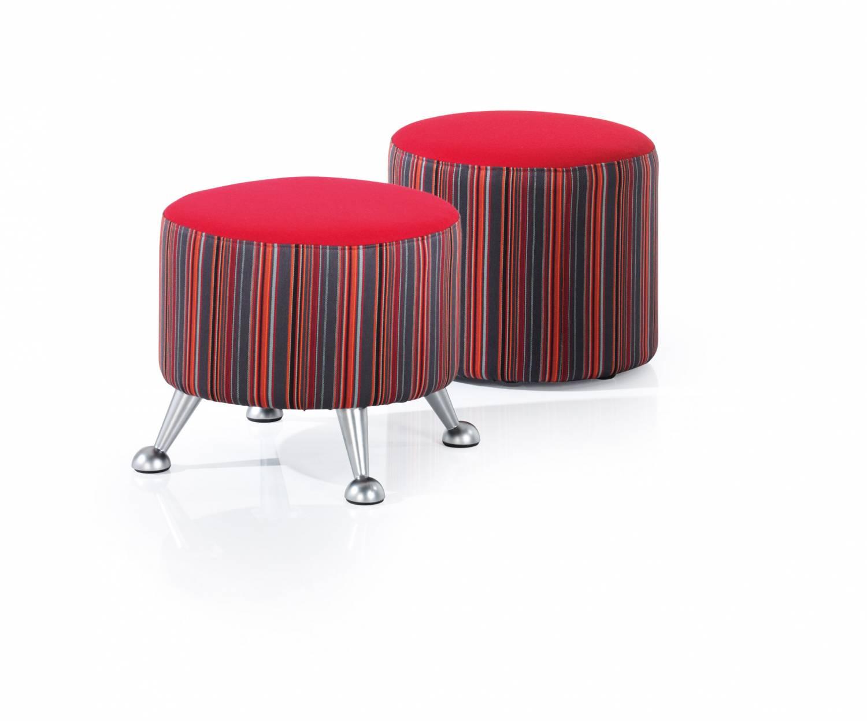 Round A frame stools