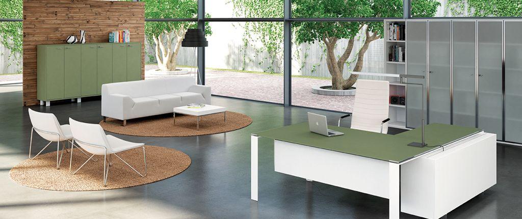 Office Furniture - Exec Quad