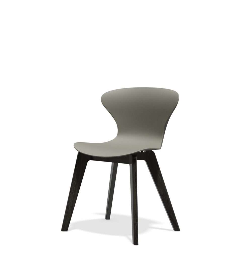 grey-black bistro ego chair