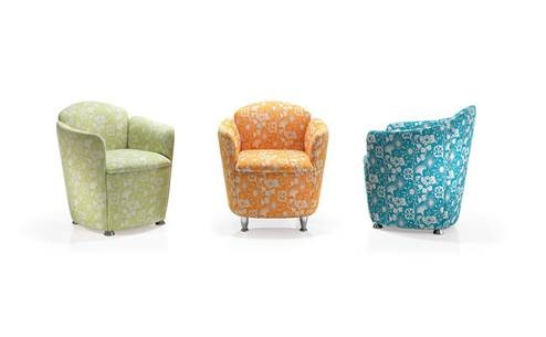 Chico Tub Chair Seating │ Reception Seating Upholstery