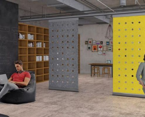 """Beanbag """"� Breakout Colourful And Comfortable Open Plan Office"""