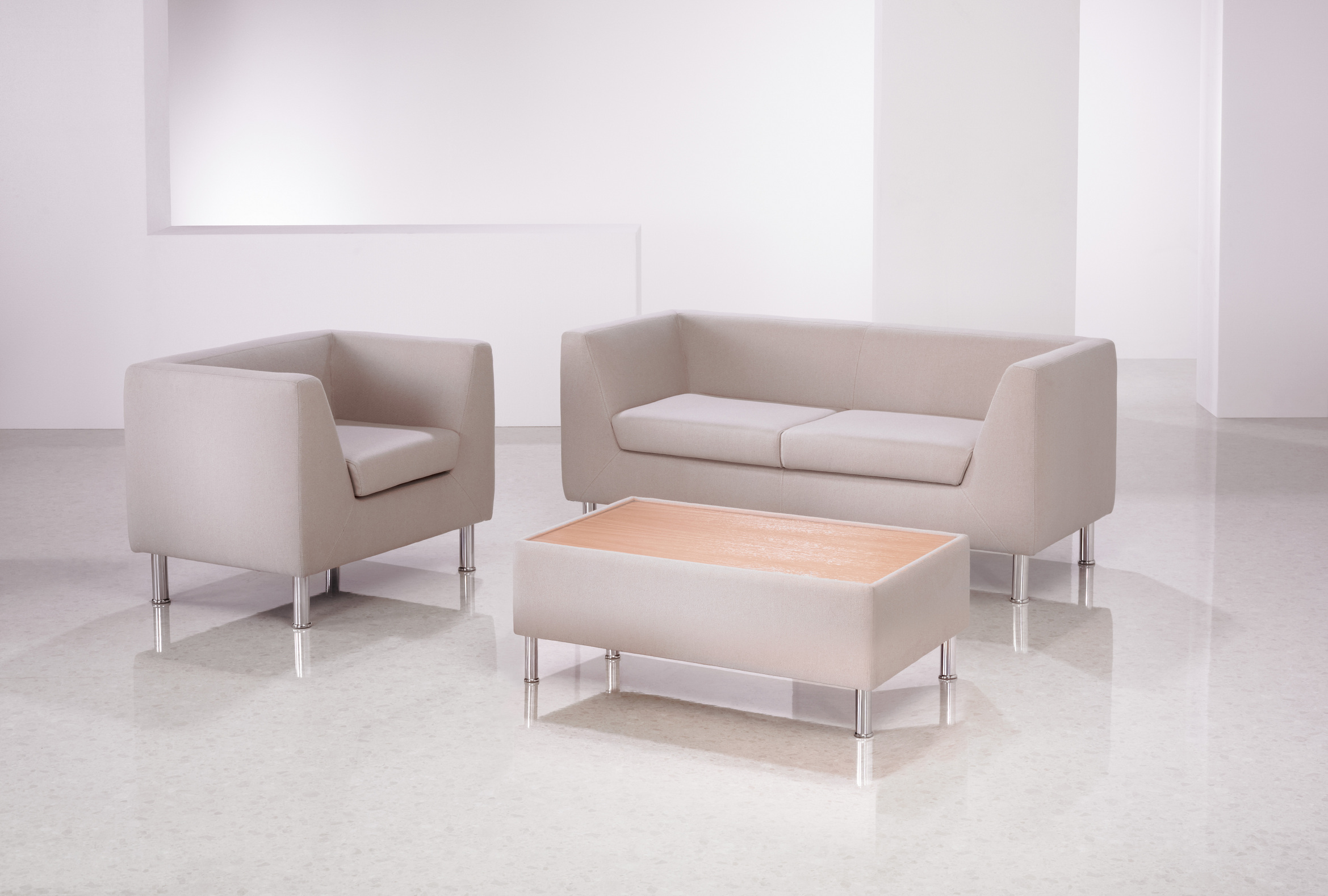 Clarity sofas and chairs