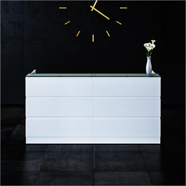 Allure Reception Desk Bevlan